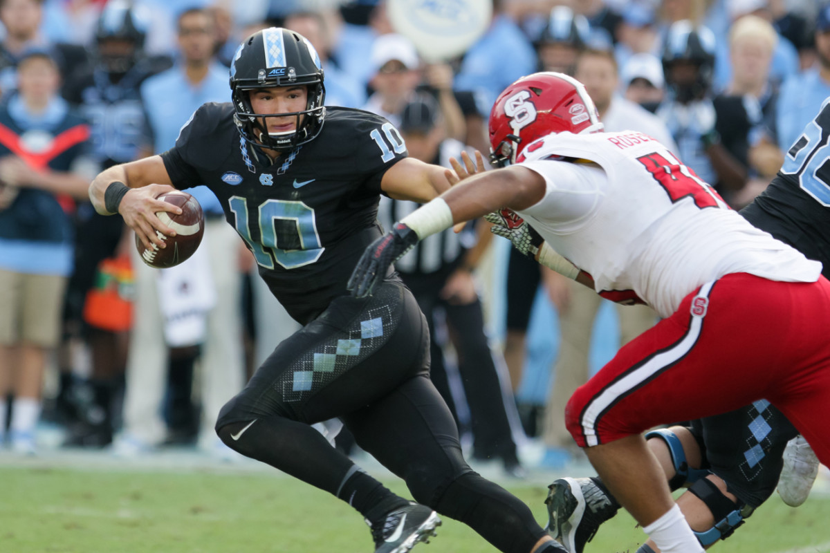 Many NFL scouts believe Mitch Trubisky, who only started one year at North Carolina, would benefit from observing in the NFL and not playing right away.
