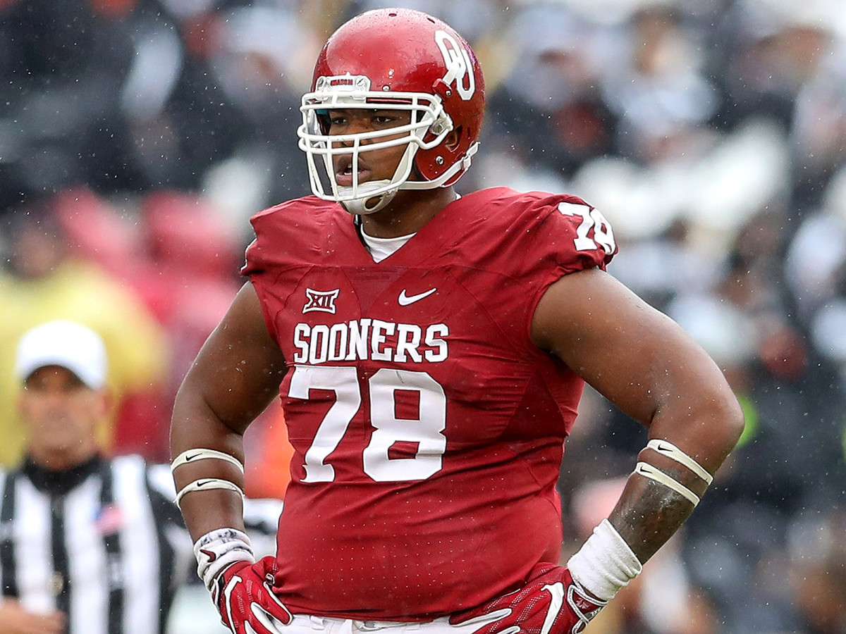 Brown weighed 450 pounds in eighth grade before football workouts and a newfound dietary discipline helped him slim down.