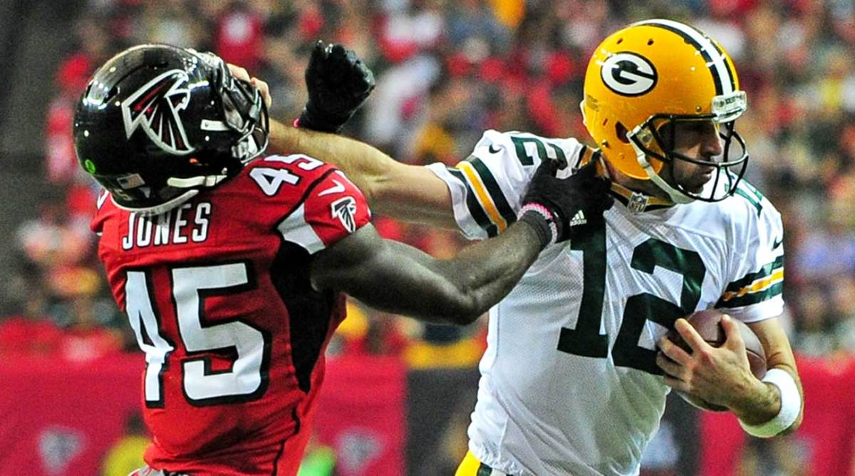 Jones and Rodgers are sure to tango again on Sunday.