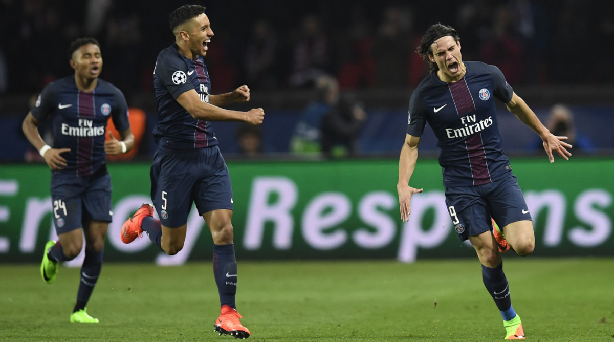 Champions League PSG Kills Barcelona Dortmund Wasteful
