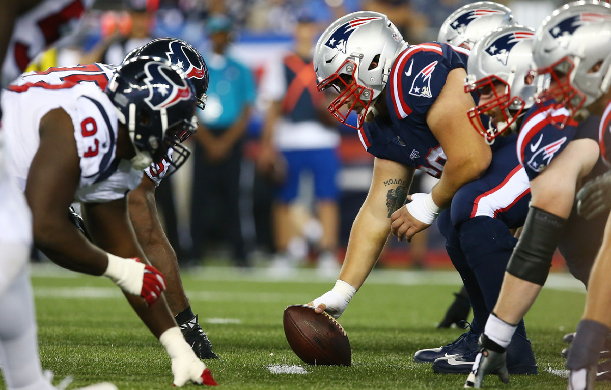 The Patriots shut out the Texans, 27-0, in Week 3 and opened as 16-point favorites for Saturday's rematch in the divisional playoffs.