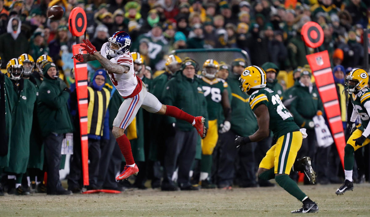 Odell Beckham and the Giants missed opportunities to make plays against Green Bay.