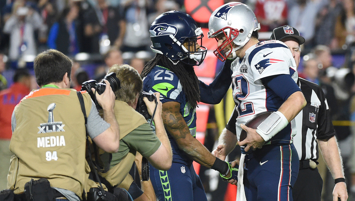 According to a recent ESPN story, Richard Sherman hasn't gotten over the Super Bowl 49 loss to Tom Brady and the Patriots.