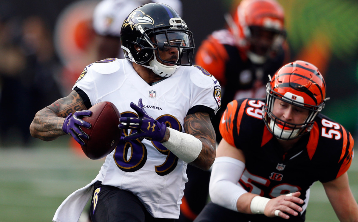 Steve Smith played in his final NFL game Sunday. He finished his 16th season with 70 catches for 799 yards and five TDs in 14 games.