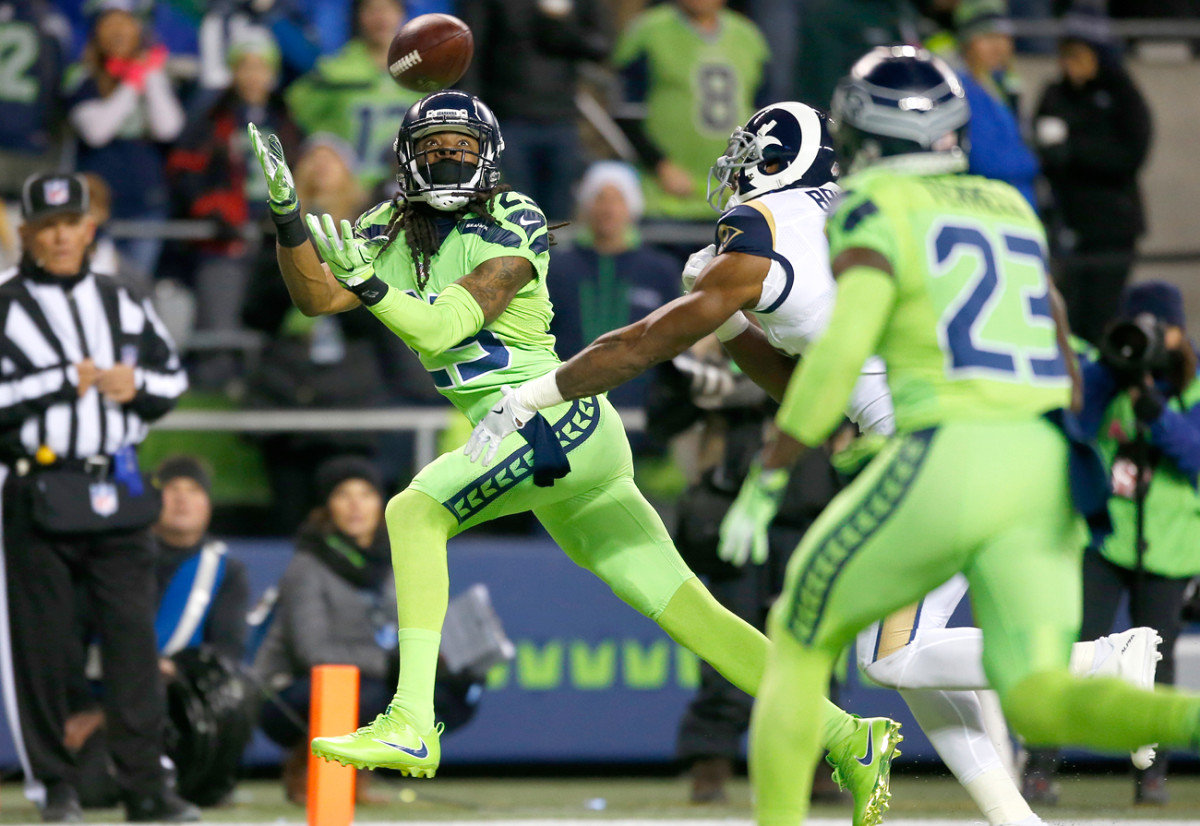Seattle's pass defense is still among the league's stingiest, but there have been issues as younger players are worked into the secondary alongside vets like Sherman.