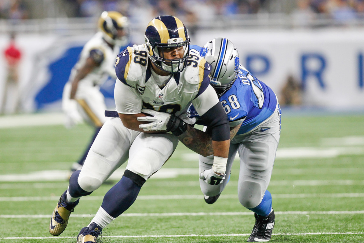 Aaron Donald hasn't shown up at the Rams OTAs while the two sides negotiate a new contract.