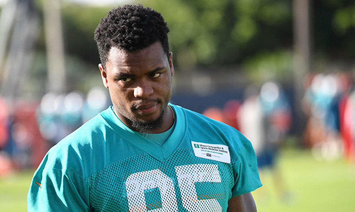 Reinstated in 2016, Jordan returned to the Dolphins for training camp, but a knee injured sidelined him for the season.