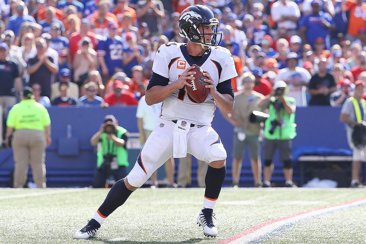 Through the first four games of 2017, Trevor Siemian has 888 passing yards and seven touchdowns.