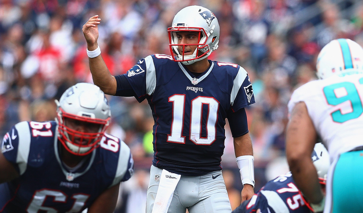 In 2017, Jimmy Garoppolo will be on the final year of his rookie contract, which expires after the season.
