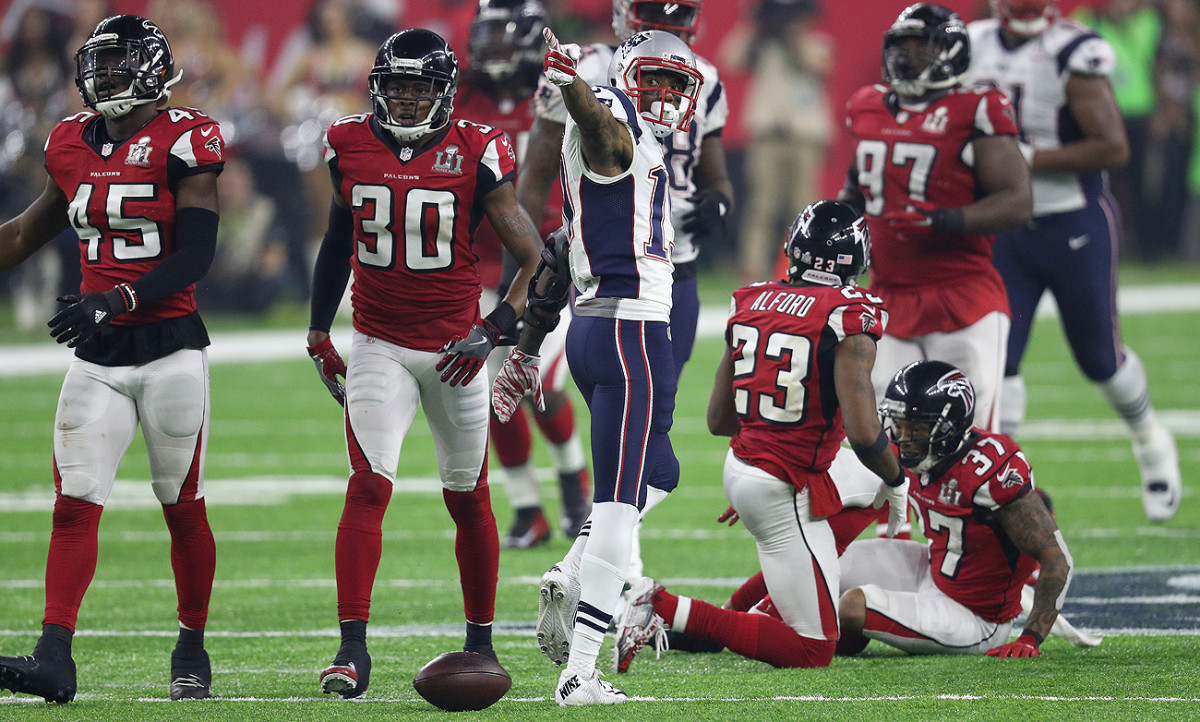 When the Patriots needed first downs, they frequently found rookie wideout Malcolm Mitchell.