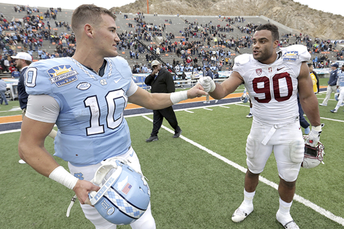 Thomas is likely to come off the board before Sun Bowl opponent Trubisky.