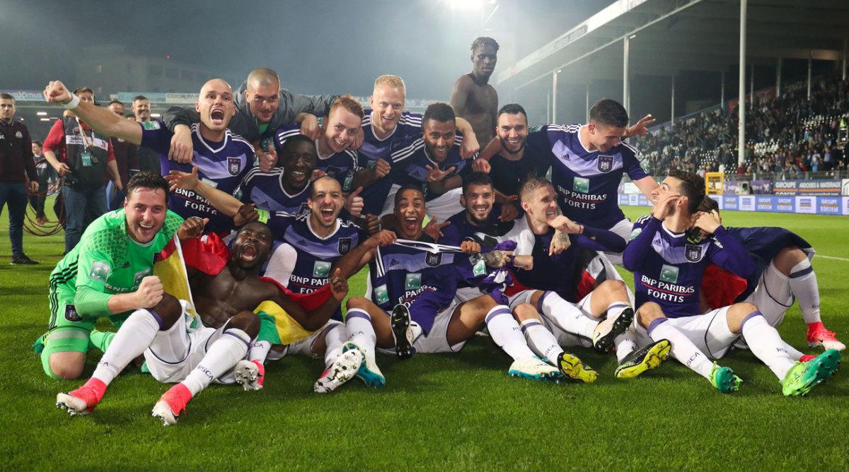 Anderlecht wins record 34th Belgian league title - Sports ...