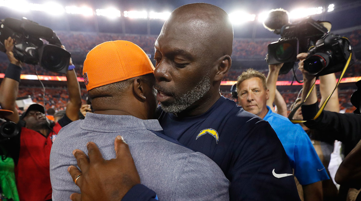 Days after Anthony Lynn and Vance Joseph faced off on Monday Night Football, The Denver Post explained why there aren't more black NFL coaches.
