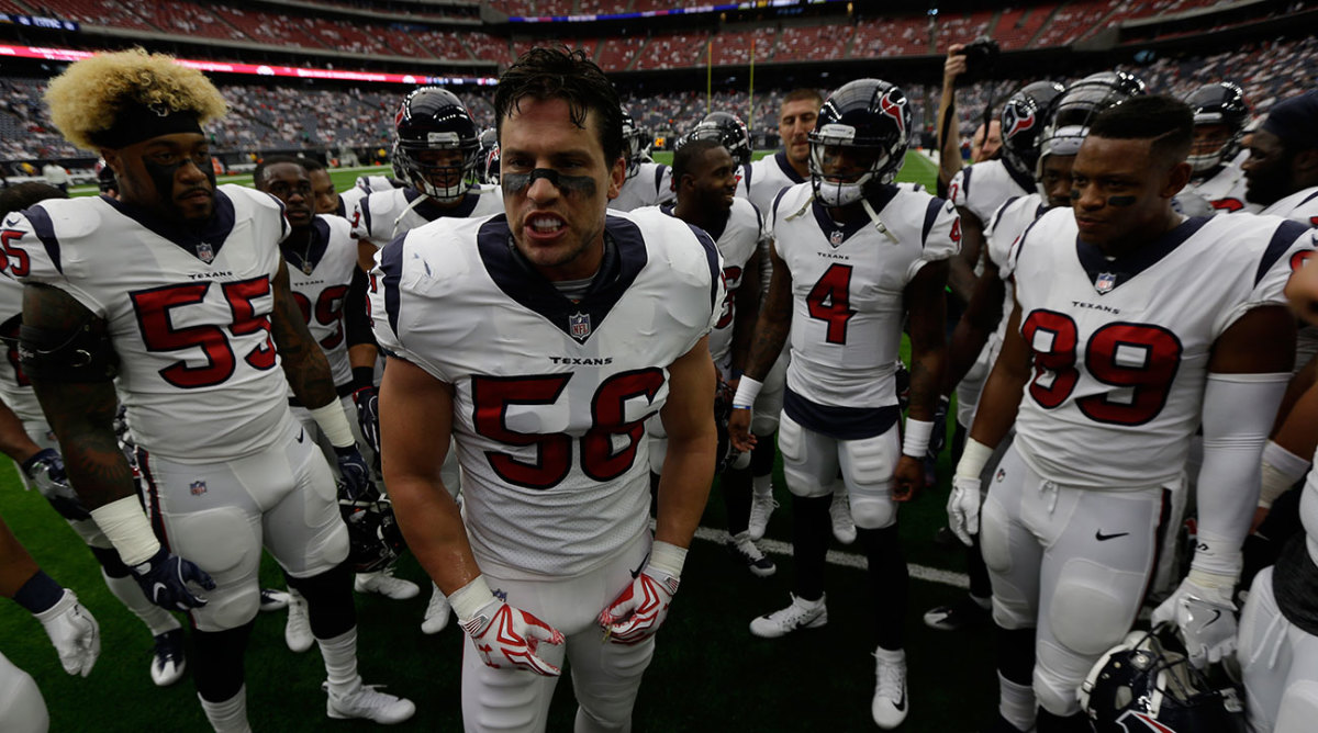 Houston Texans linebacker Brian Cushing was suspended for violating the league's PED policy Wednesday.