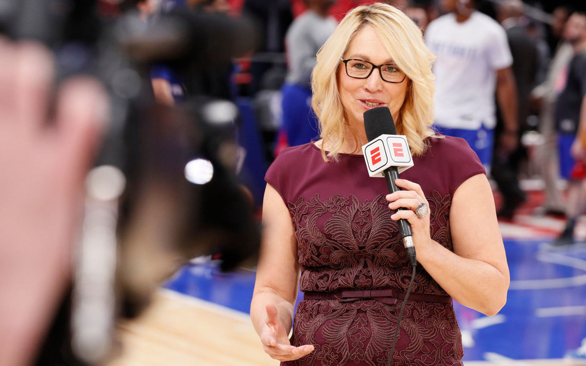 Doris Burke Recovering From Covid 19 Sports Illustrated