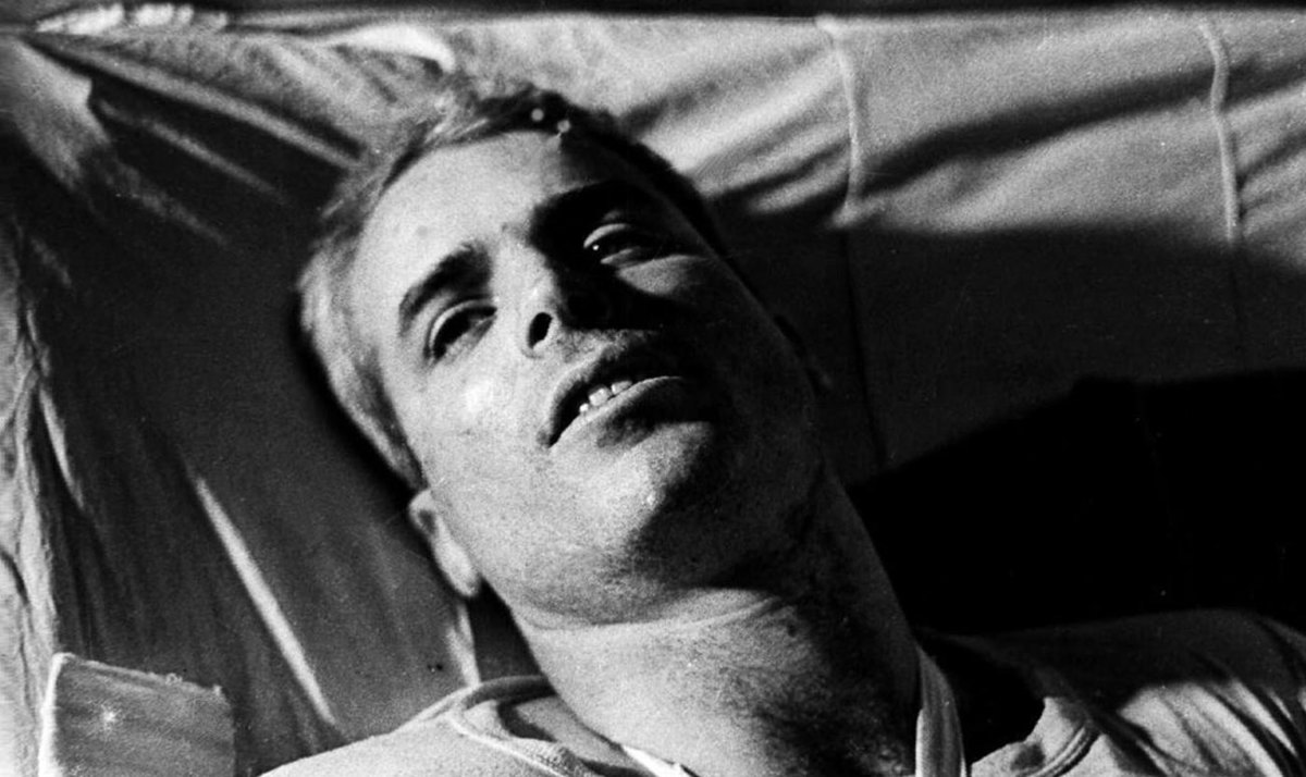 McCain was given the opportunity to be released early from prison in Hanoi but insisted he remain until all of his fellow POWs were freed.