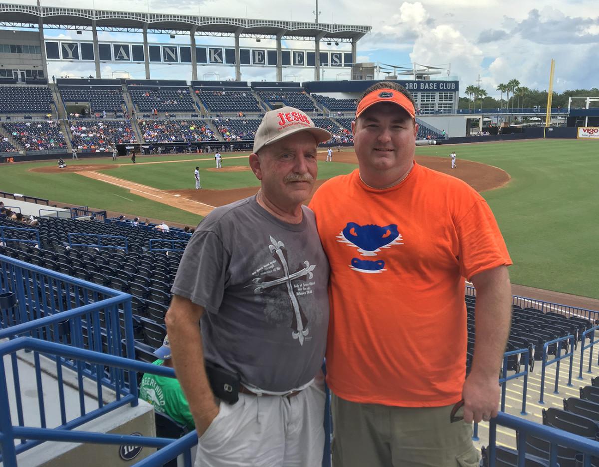 Steve Loscalzo Sr.and Steve Loscalzo Jr.