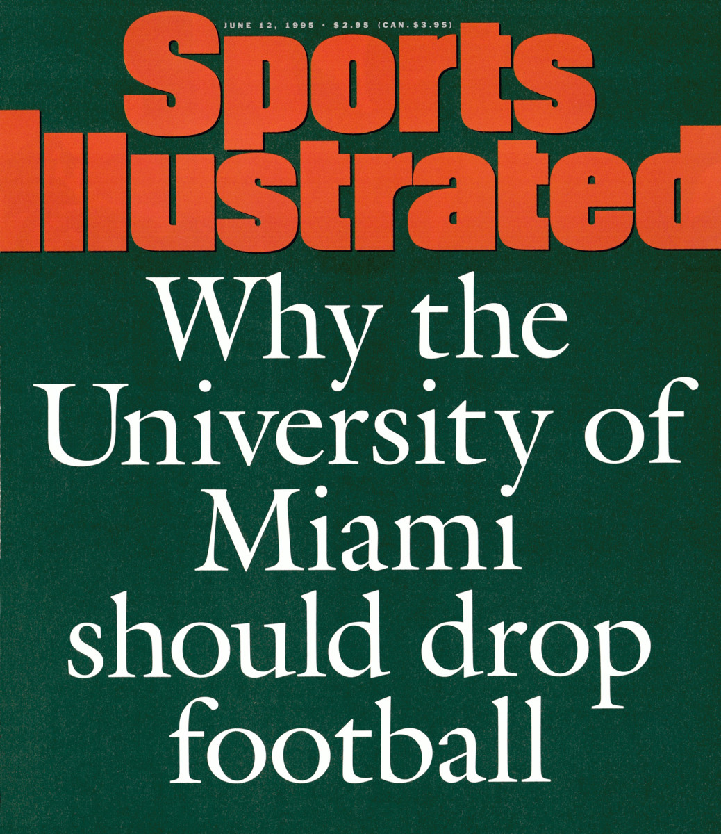 Sports Illustrated's June 12, 1995 cover.