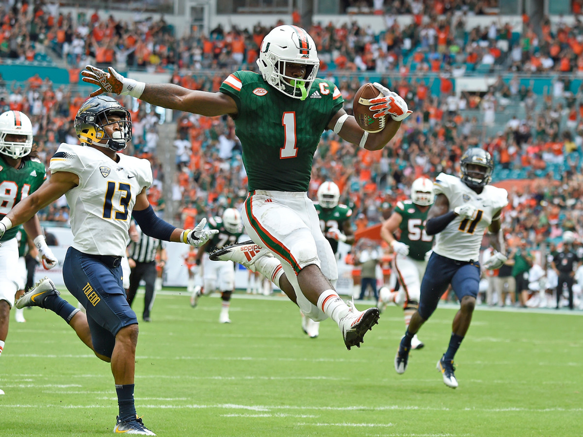 On the strength of offensive playmakers like running back Mark Walton, Miami seems closer than ever to the school's first ACC title.