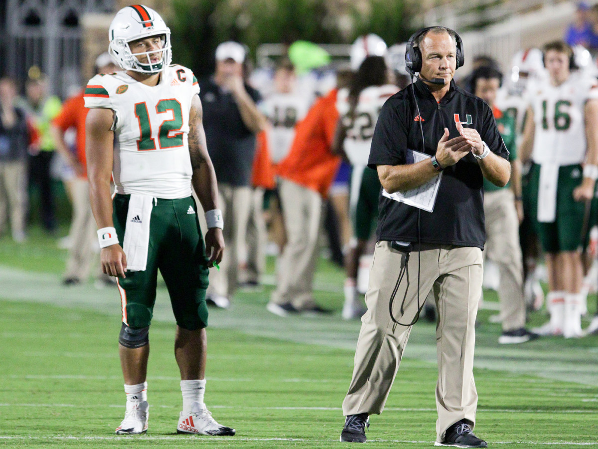 Junior Malik Rosier (left) has rewarded Richt for his decision to go with the more experienced member of his summer quarterback battle.