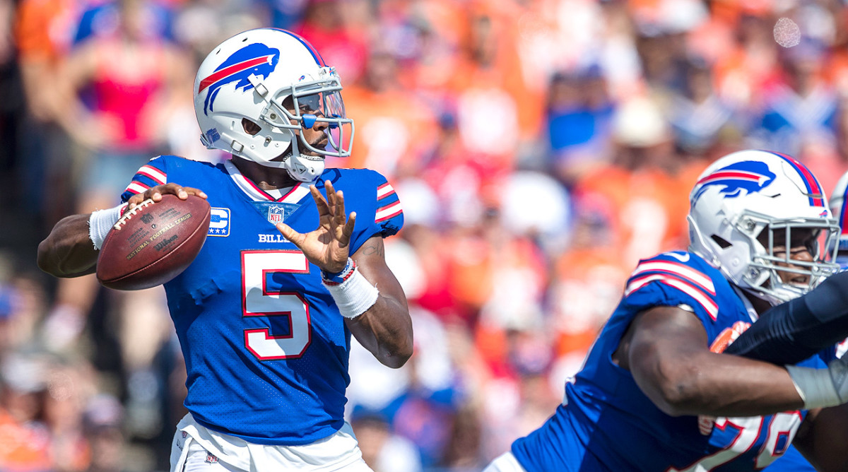 Tyrod Taylor has the right matchup and price tag to provide major value in DFS contests in Week 4.