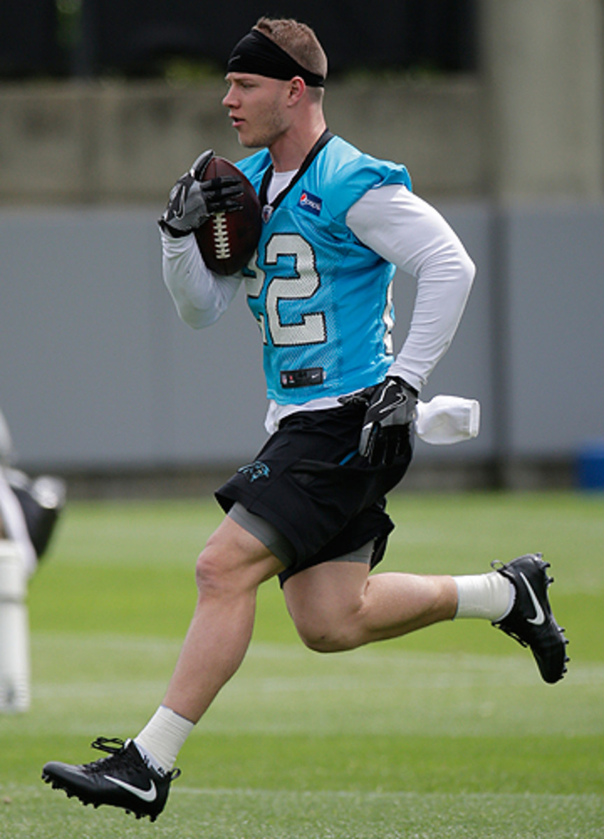 Panthers RB/WR Christian McCaffrey