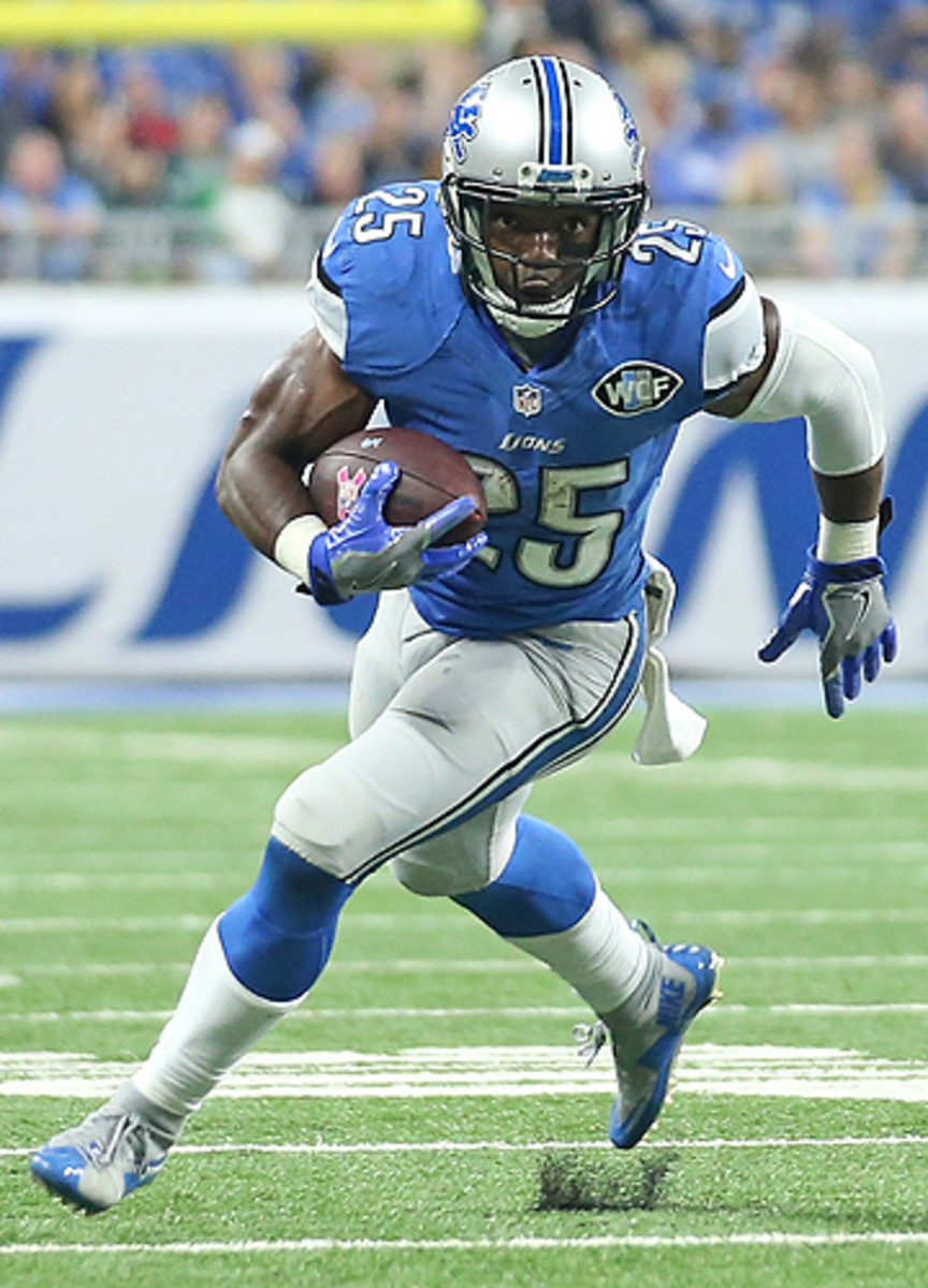 Lions running back Theo Riddick