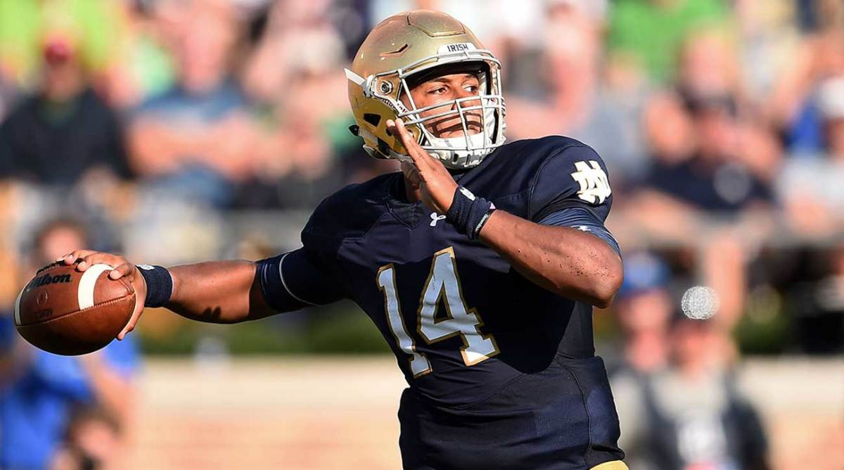 As a thrower, no QB in this class looks the part more than Kizer.