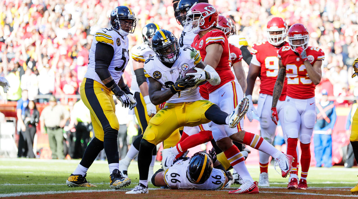 Le'Veon Bell got the Steelers back on track after a collapse against the Jaguars last week.