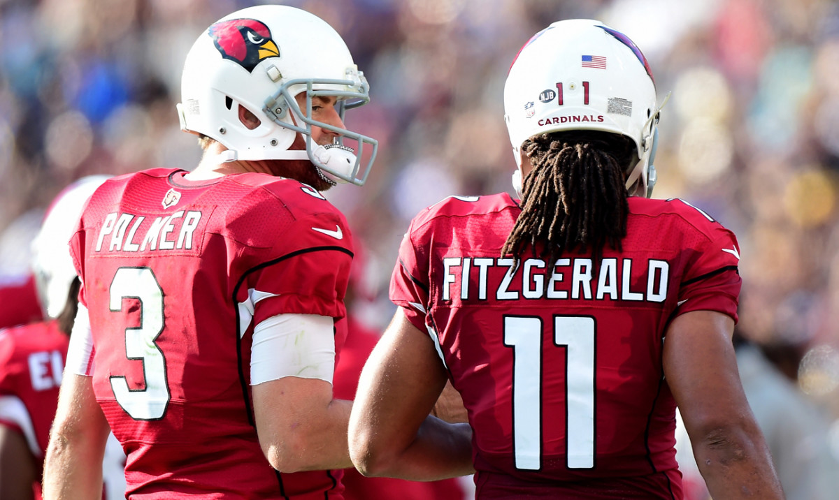 Carson Palmer have been teammates in Arizona for four years. The 2017 season might be their last.