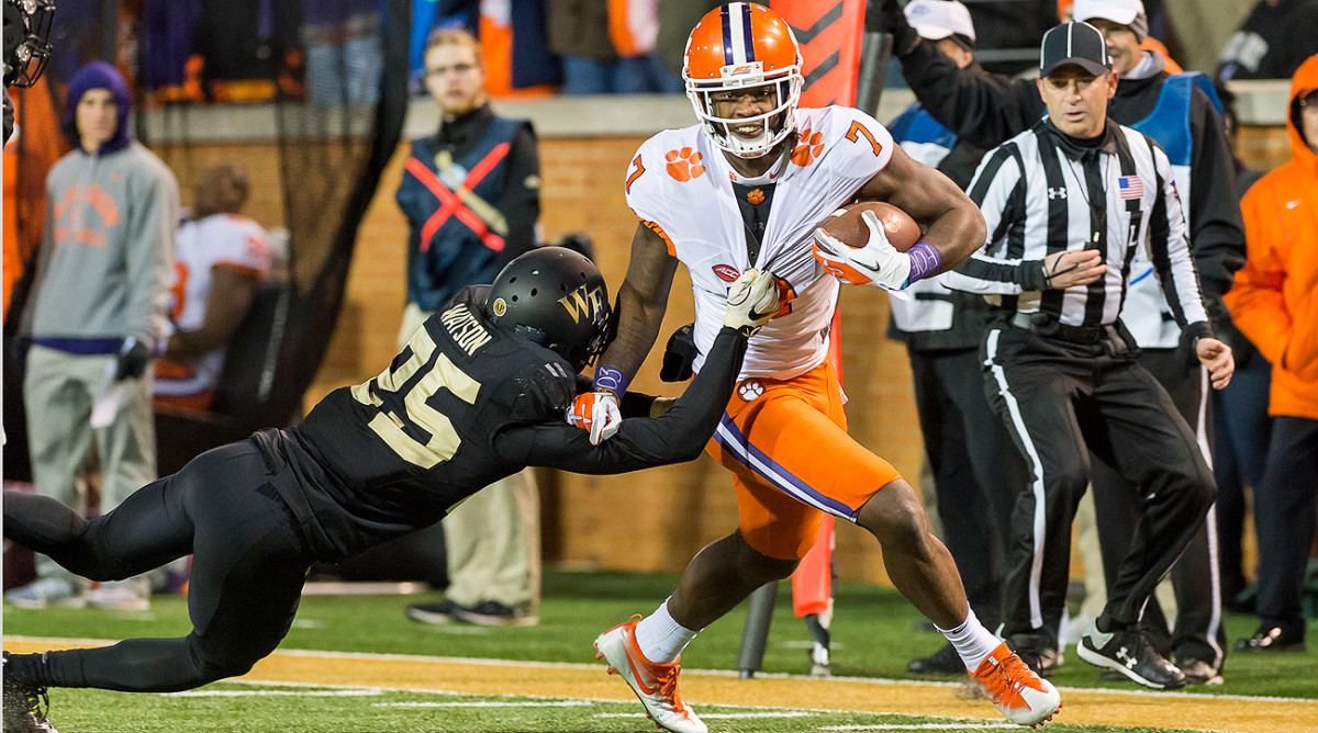 The depth at wide receiver could lead teams to wait to pull the trigger on potential superstars like Clemson's Mike Williams.