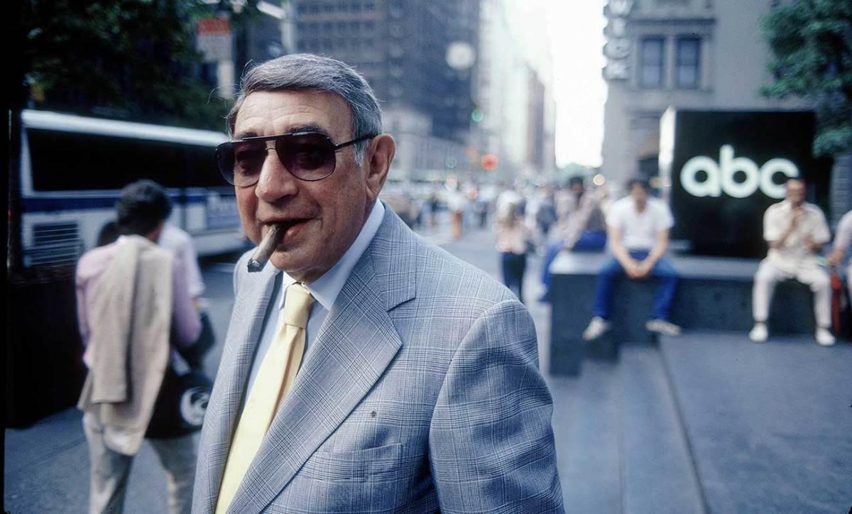 Howard Cosell, New York City, 1983.
