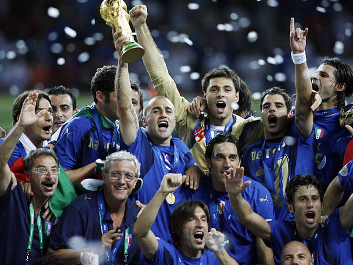 World Cup Winners - 18 - 2006: Italy