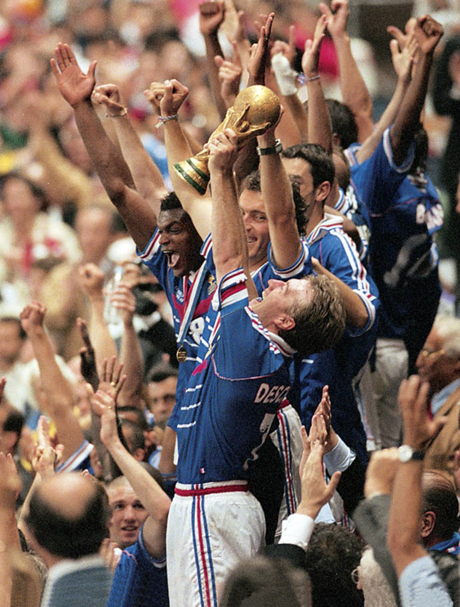 World Cup Winners - 16 - 1998: France