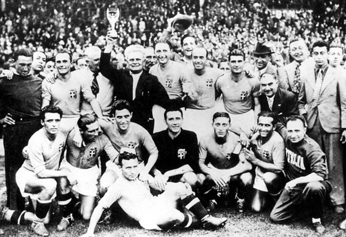 World Cup Winners - 3 - 1938: Italy