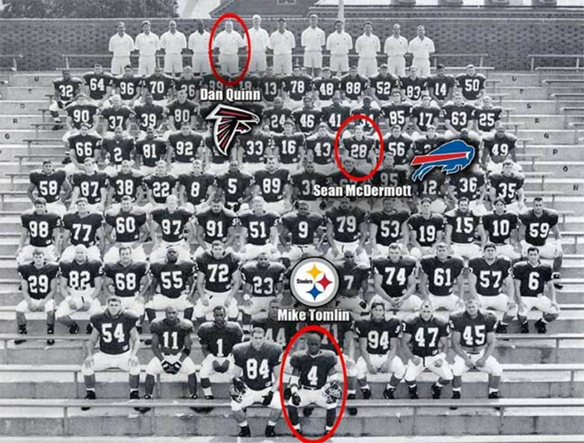 The William & Mary 1994 team photo featured three future NFL head coaches.