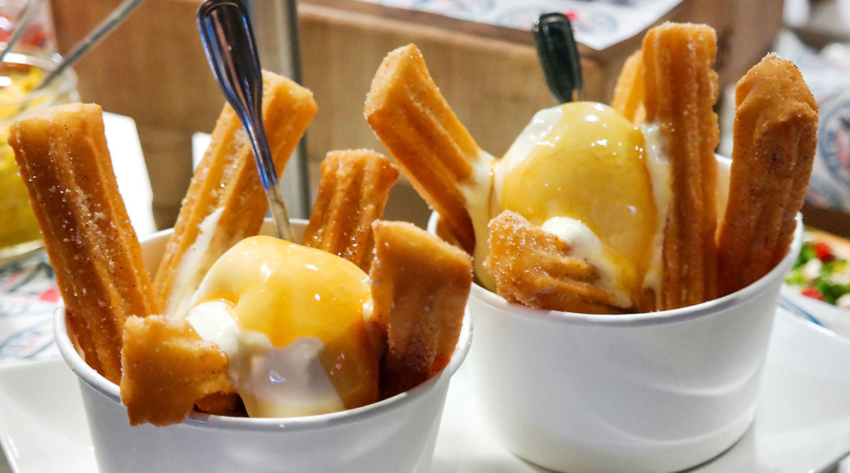 The Blue Jays offer Churro Poutine