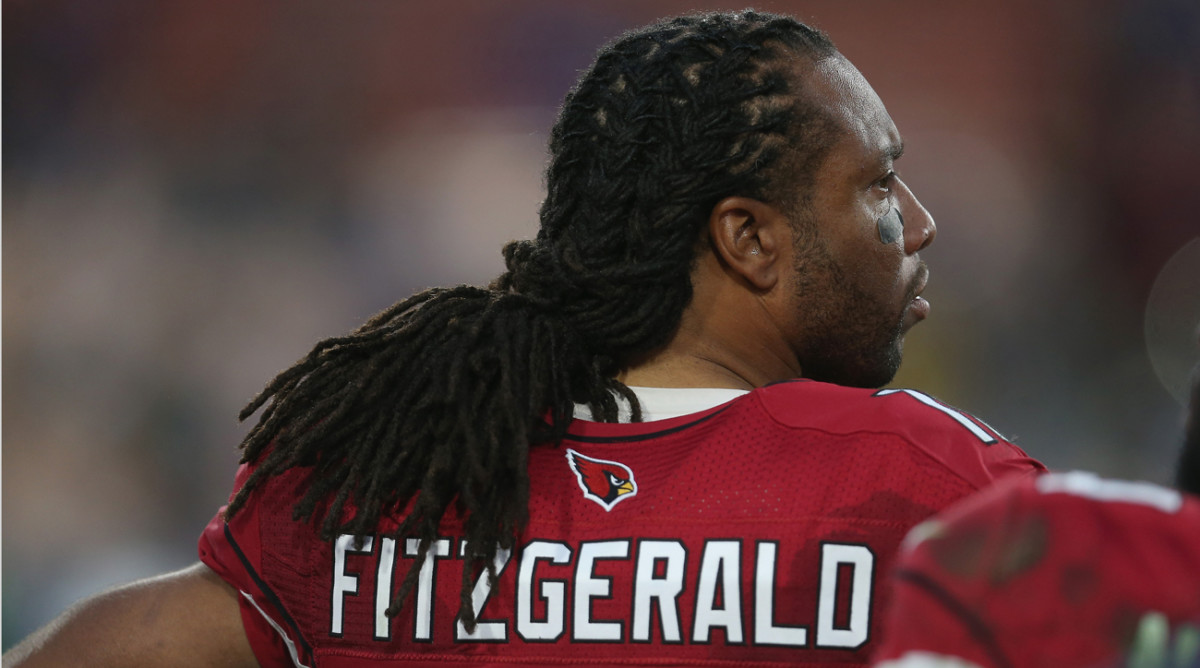Has the NFL seen the last of Larry Fitzgerald in a uniform? The Cardinals wide receiver reportedly is mulling retirement.