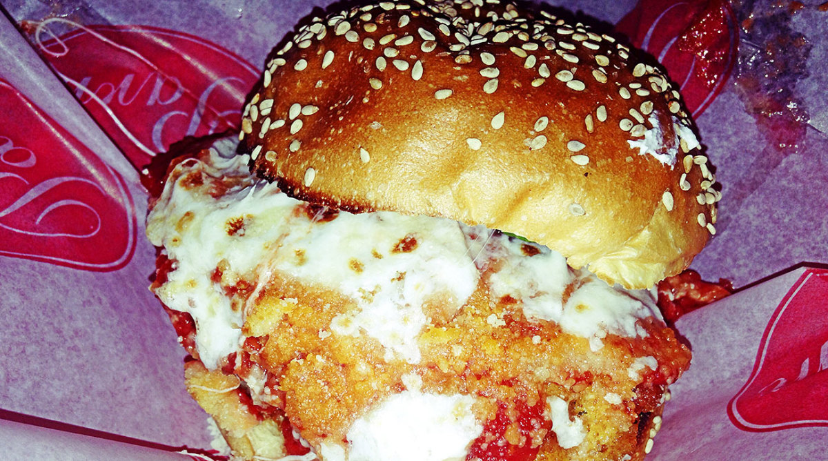 The chicken parm sandwich from the aptly named Parm.