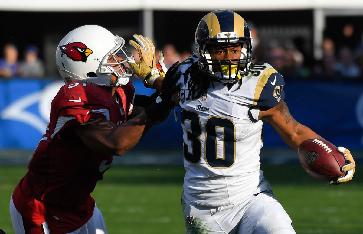 Todd Gurley had 49 more carries in 2016 than his rookie season but rushed for 221 fewer yards.