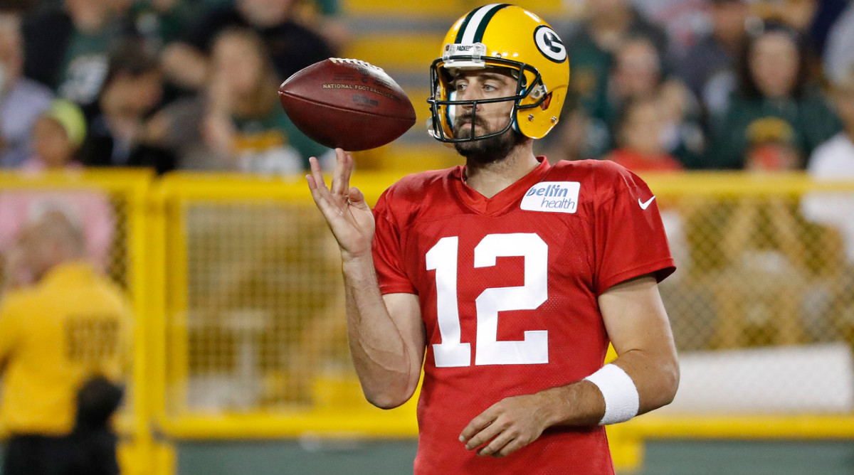 Aaron Rodgers and the Packers have made the playoffs eight straight seasons, tied with the Patriots for longest current streak in the NFL.