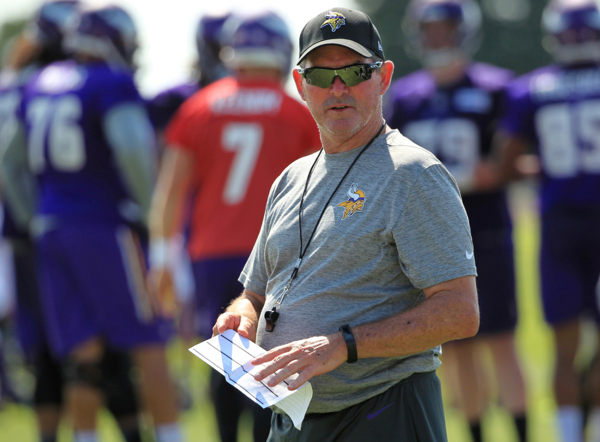 Mike Zimmer and the Vikings are looking to return to the playoffs after last season's bumpy 8-8 record.