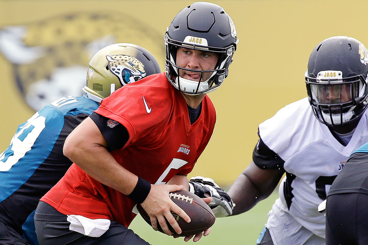In Jaguars' training camp, Blake Bortles's biggest competition is ... himself.