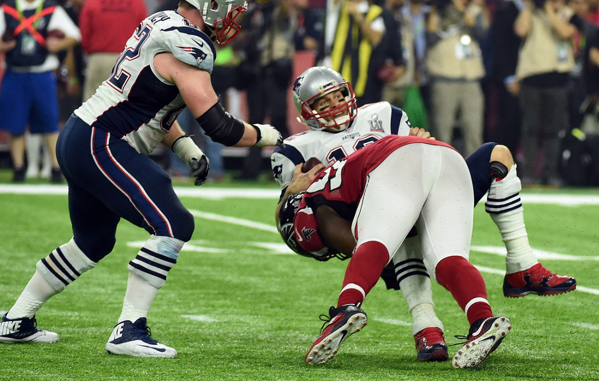 Brady has taken his share of hits, but hasn't missed a game due to injury in eight years.