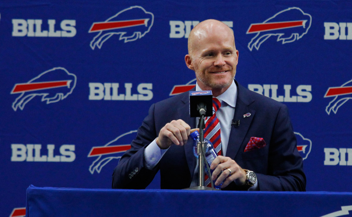Sean McDermott is the third new coach in Buffalo since the beginning of the 2013 season.