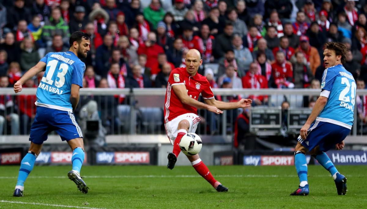 Bayern Vs Hamburg Highlights