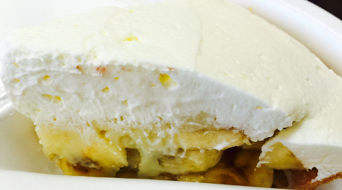 The icebox pie at Strawn's.