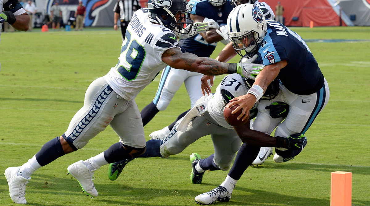 The Tennessee Titans beat the Seahawks at home as Marcus Mariota played a clean game.