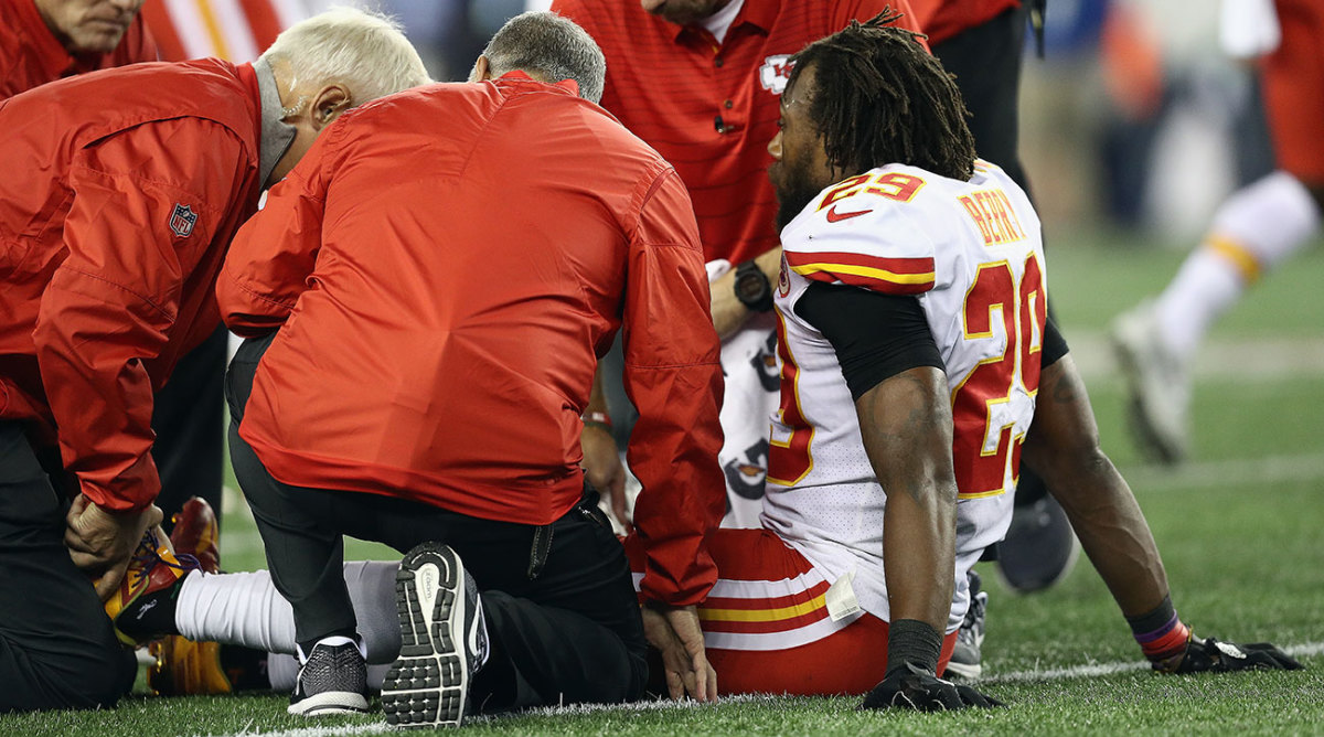 Chiefs safety Eric Berry faces a lengthy rehab after tearing an Achilles tendon. He's already overcome something way worse.