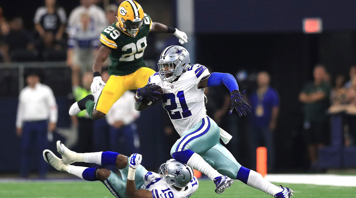 Ezekiel Elliott is once again allowed to play for the Cowboys while his legal proceedings carry on.